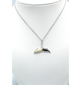 Collier queue de baleine en ivoire de mammouth fossilisé - MP74
