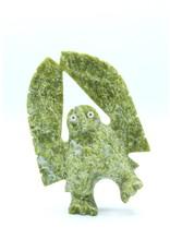 Owl by Adamie Qaumagiaq - 7553M