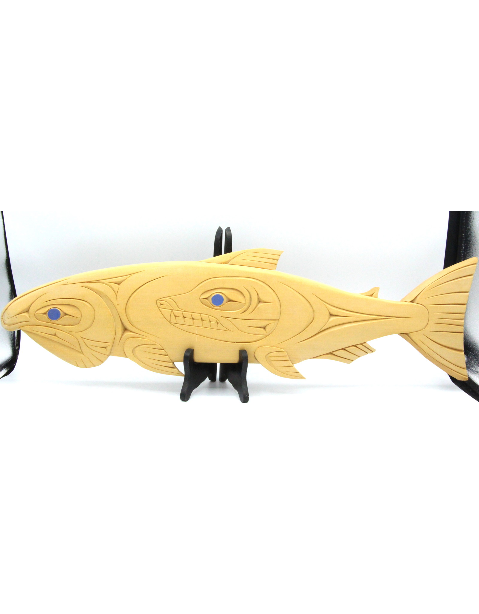 59951 - Salmon Plaque by T. Sparrow