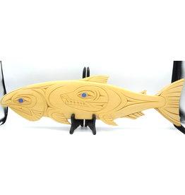 59951 - Salmon Plaque par T. Sparrow