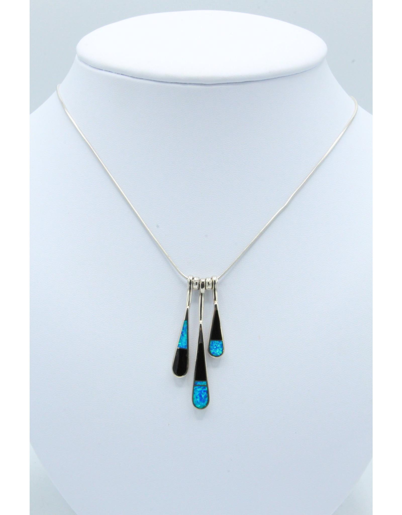 3 Tear Necklace - N-108-41