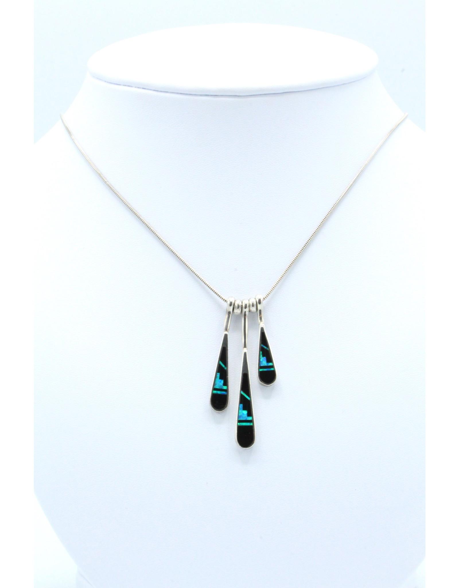 3 Tear Necklace - N-108-42
