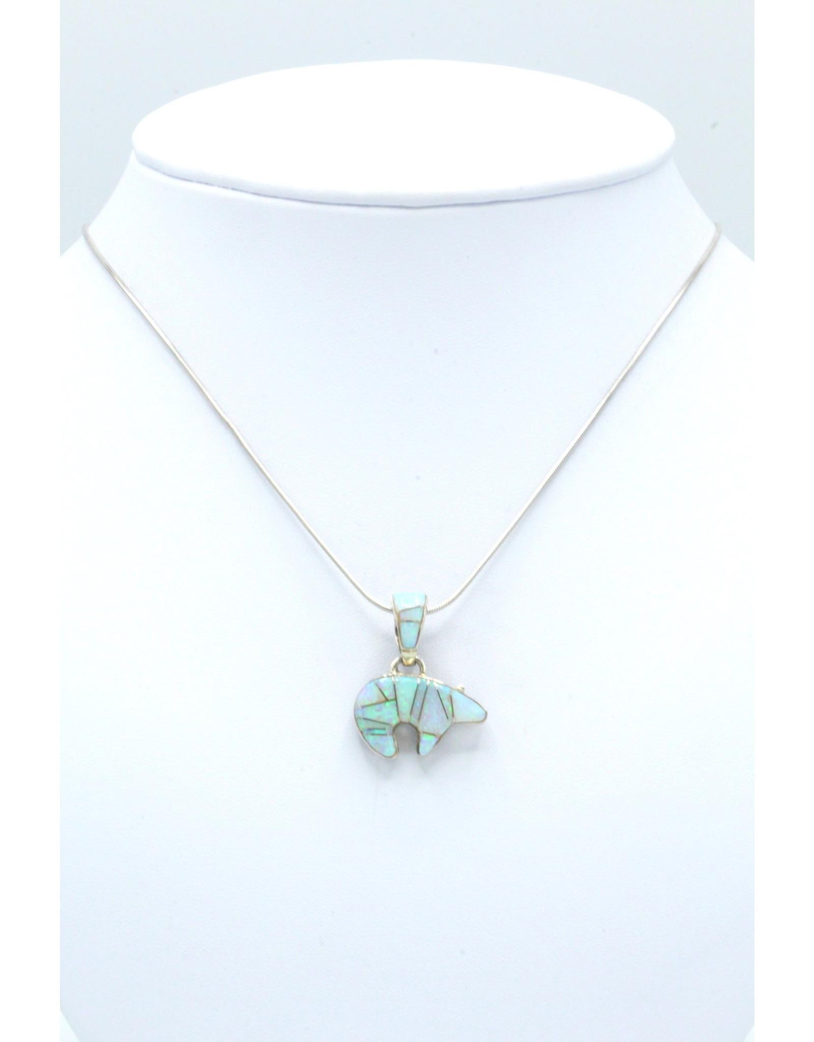 Small Cobble Opal Bear - SBP5