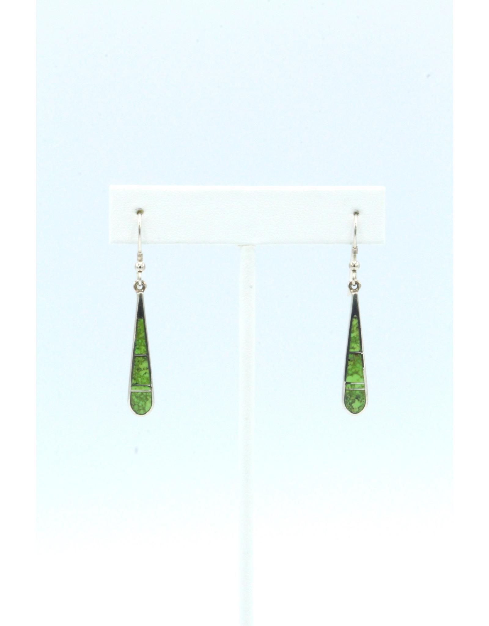 Tear Earrings Gaspeite - TEG1