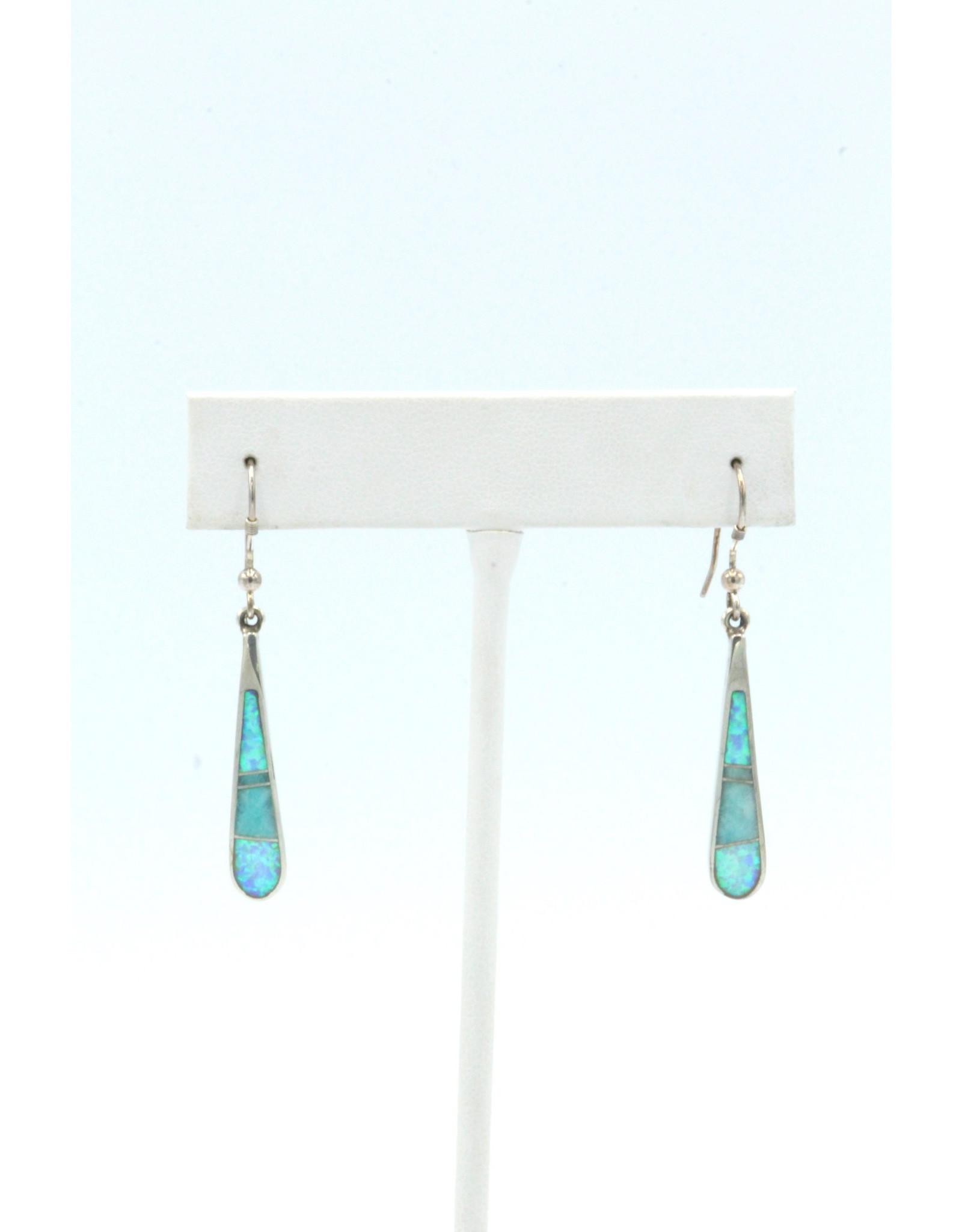 Tear Earrings - TEAL2