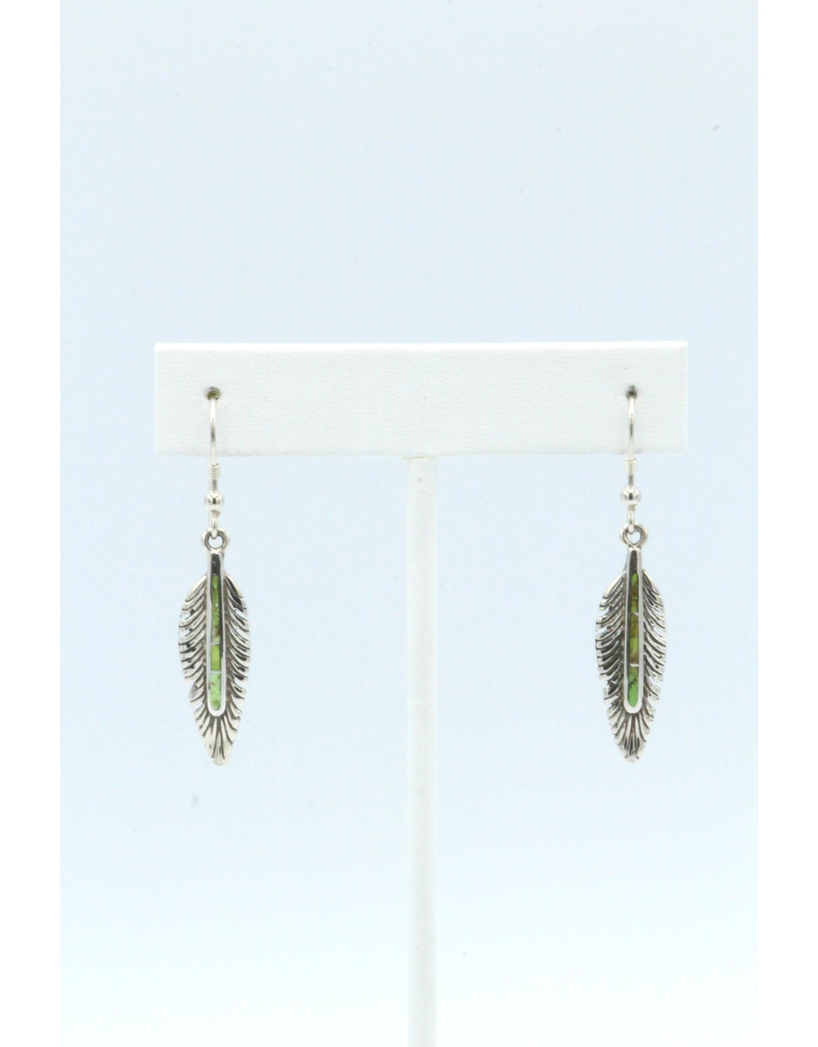 Feather Earrings - FEG1