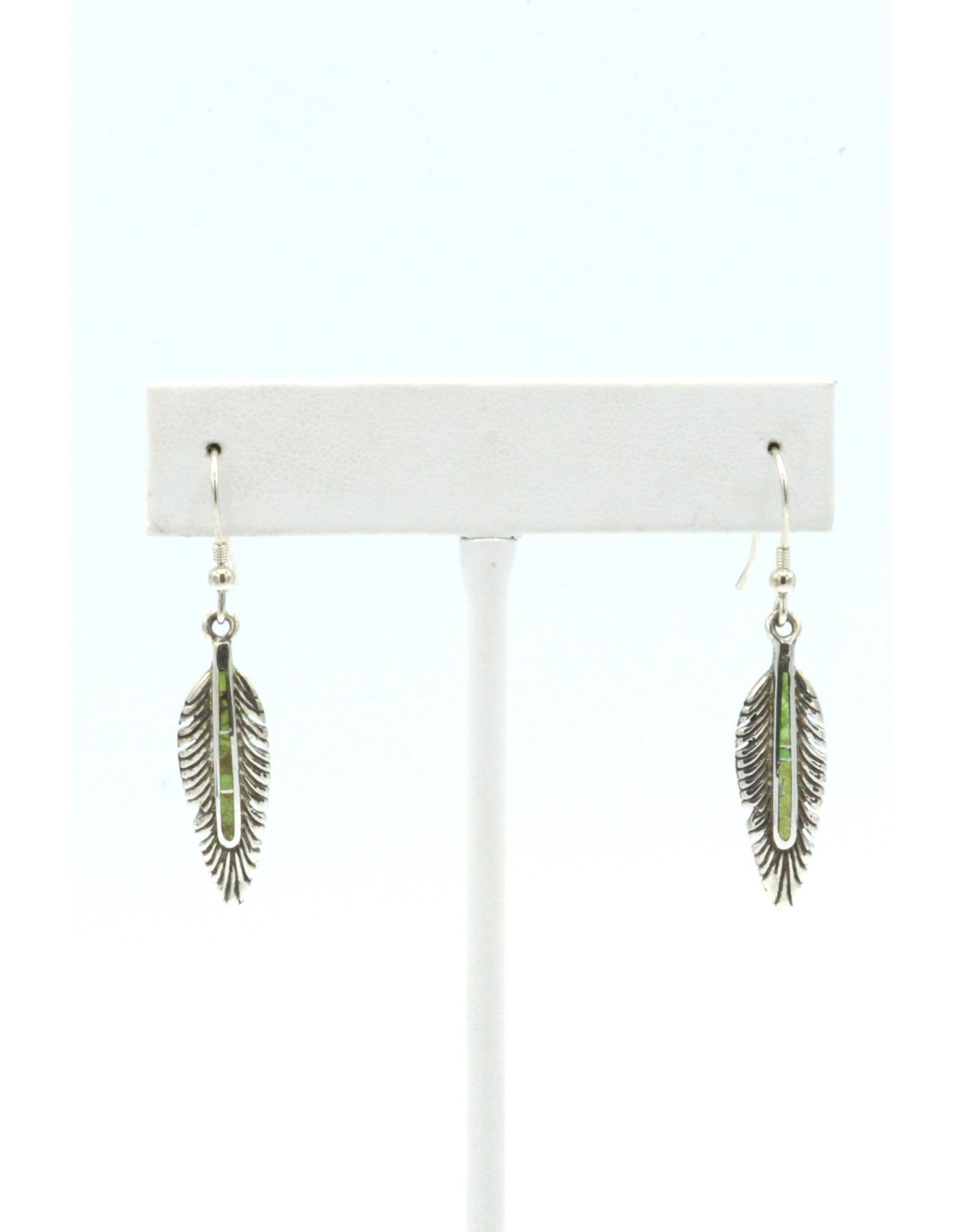 Feather Earrings - FEG12