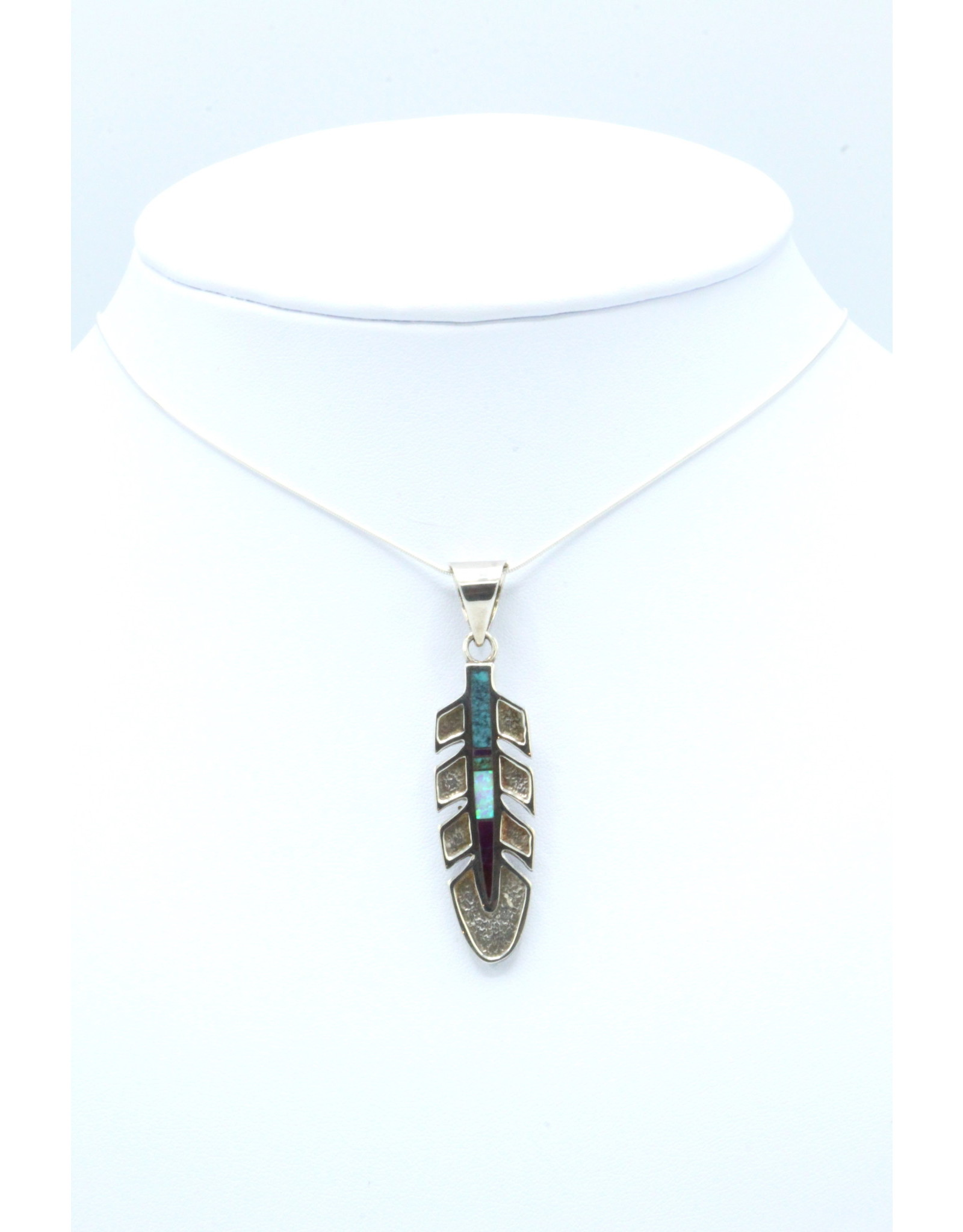 Large Feather Pendant  - P3018