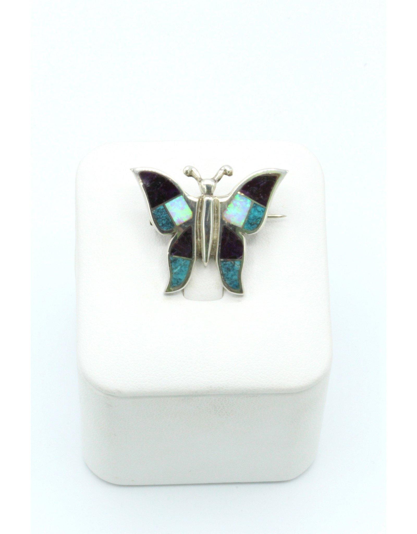 Butterfly Broach -P815-3