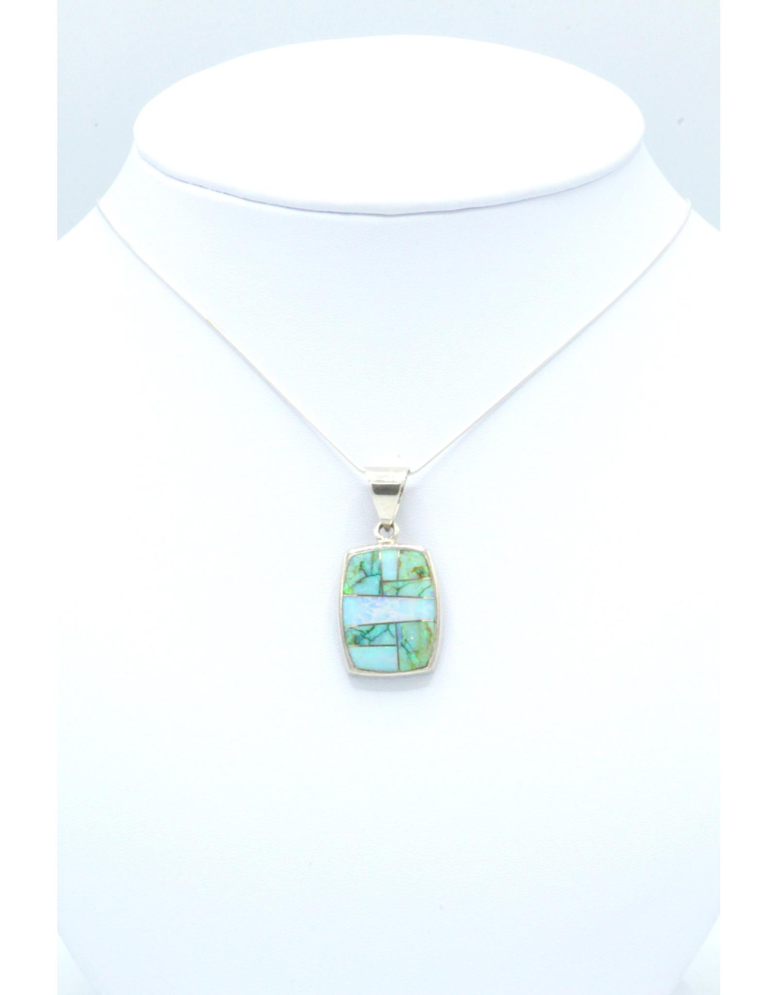 Green Opal Pendant - P225-3