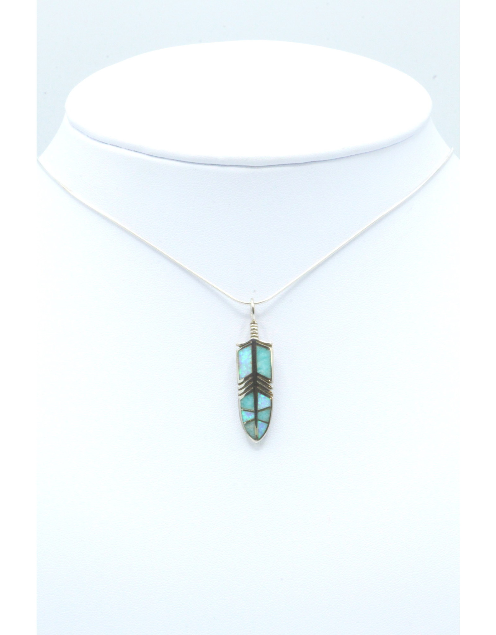 Feather Pendant - FPAL160
