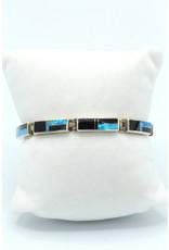 Onyx Opal Bracelet - BR105-2
