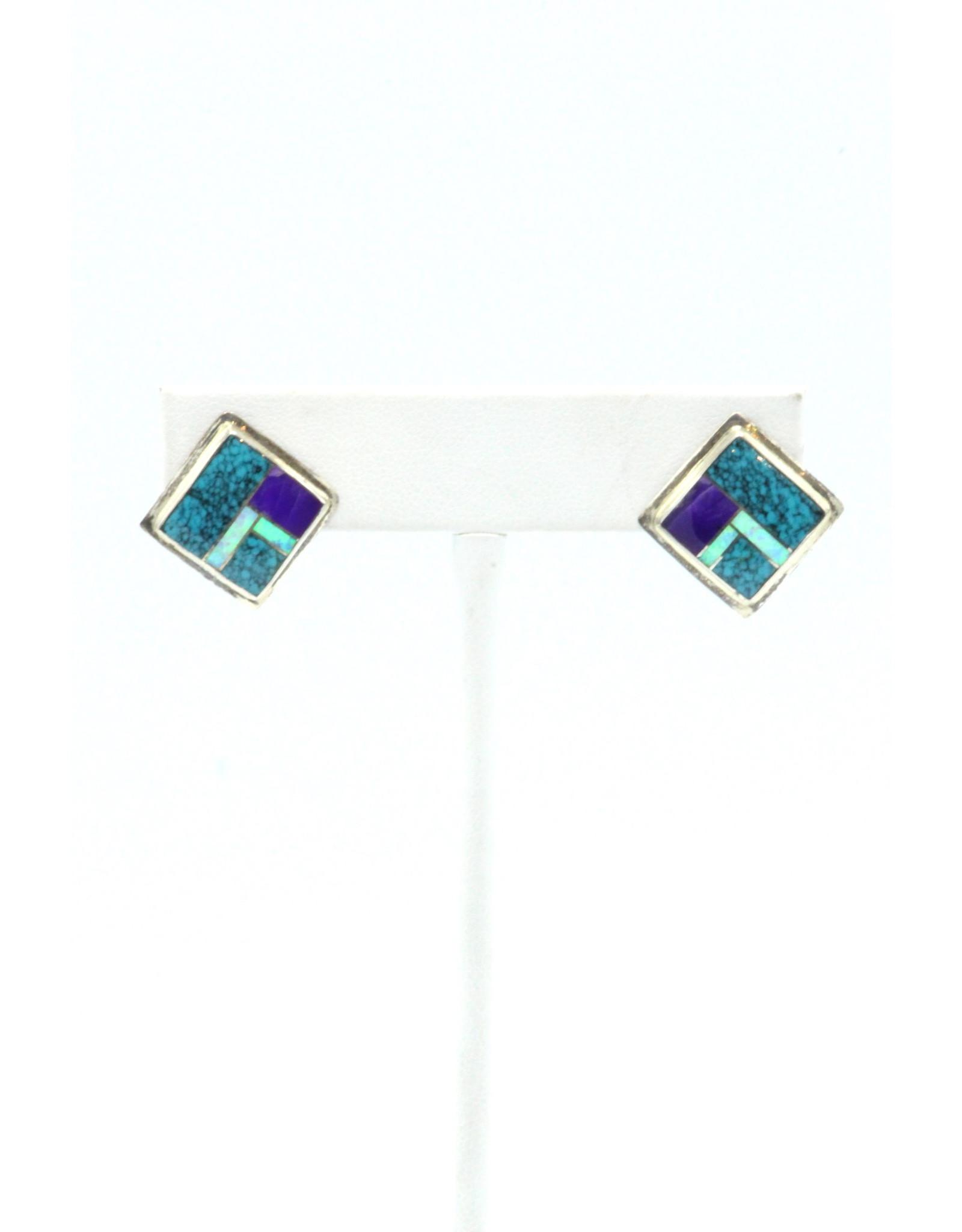 Navajo Earrings-ER514-4