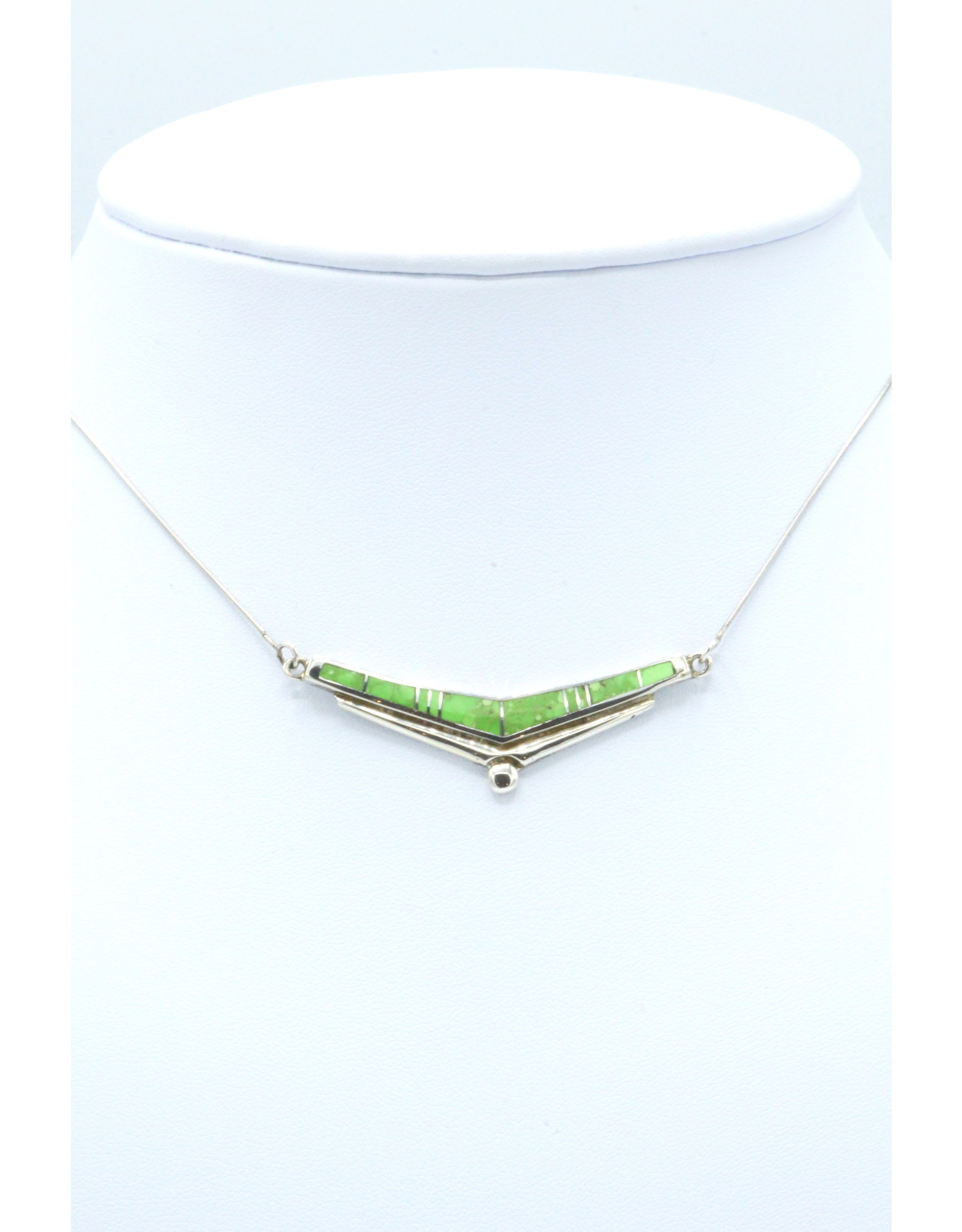 Gaspeite Necklace - N788