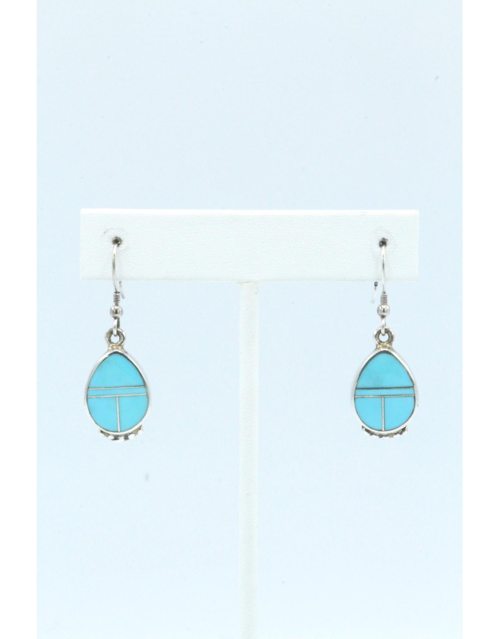 Turquoise Earrings-ER016-3
