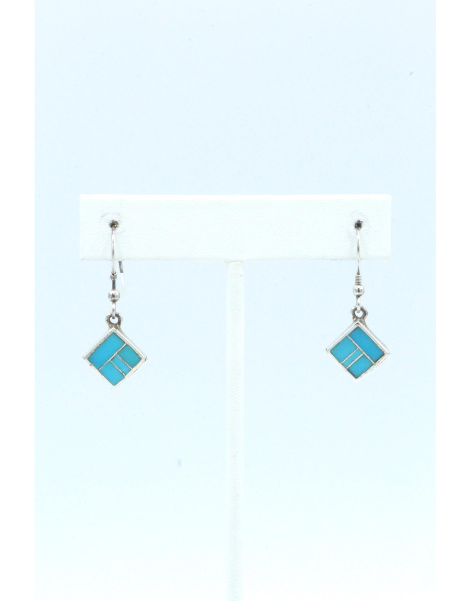 Turquoise Earrings-ER8000-3