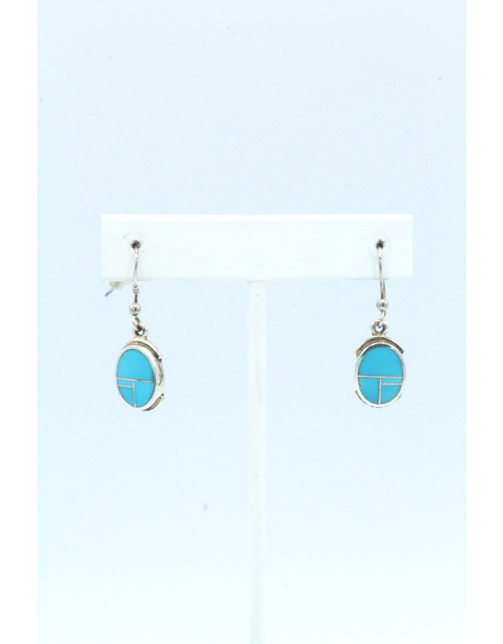 Turquoise Earrings-ER8001-3