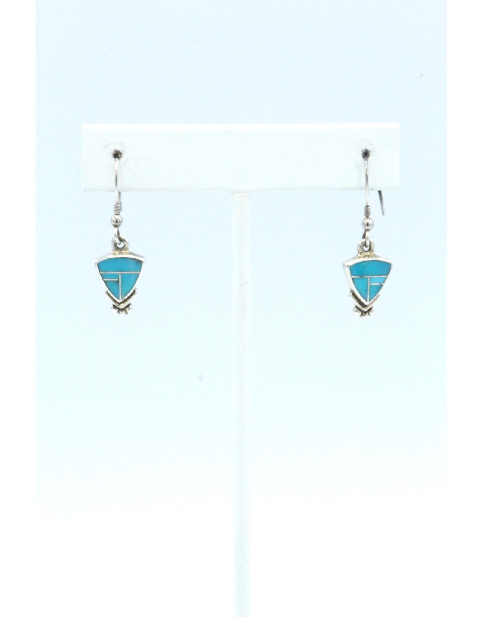 Turquoise Earrings-ER043-3