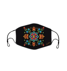 Reusable Face Mask The Revelation by Tracey Metallic