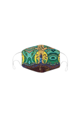 Reusable Face Mask Strong Earth Woman by Leah Dorion