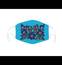 Masque Réutilisable Flowers & Birds par Norval Morrisseau