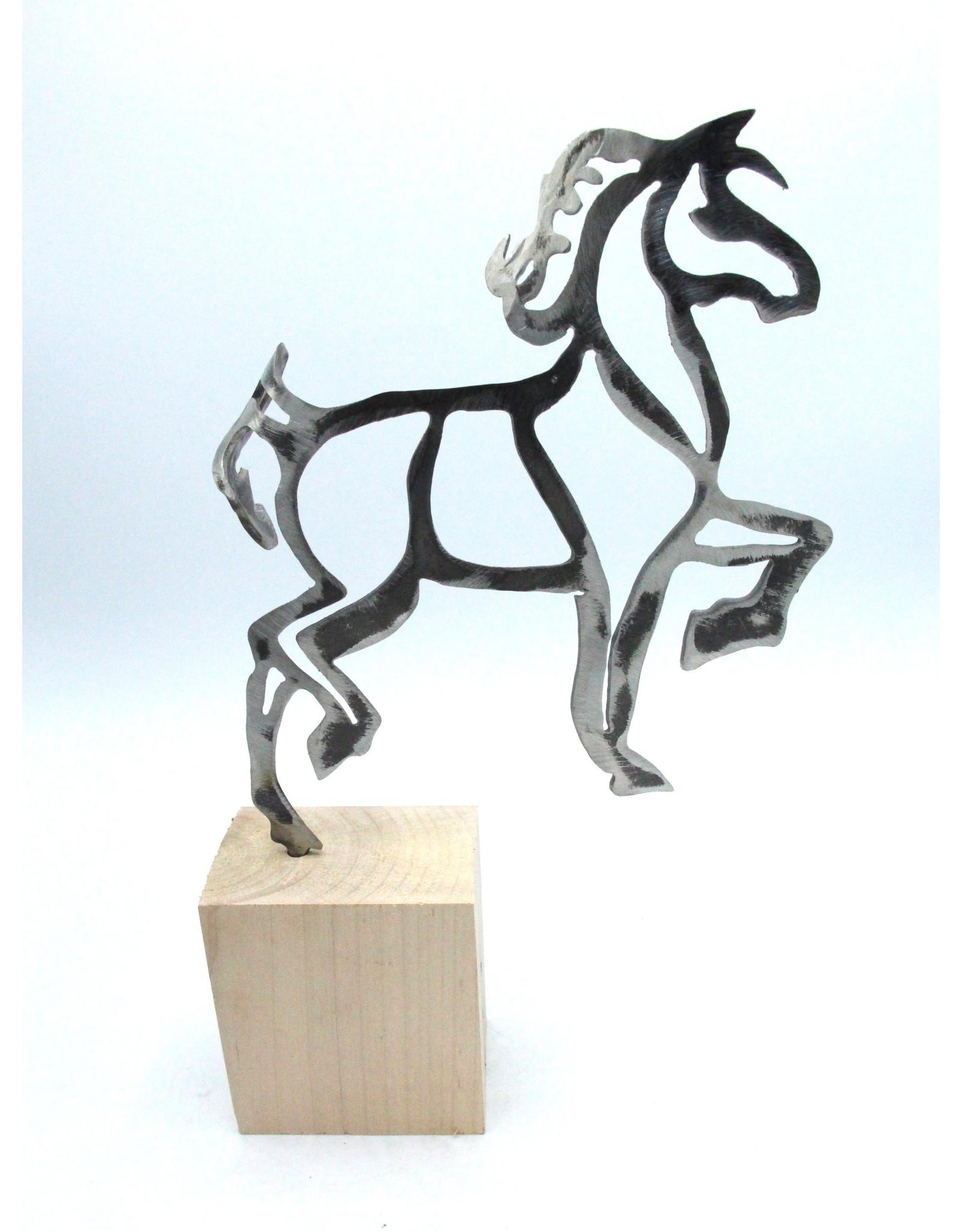 Metal Sculpture - Walking Horse