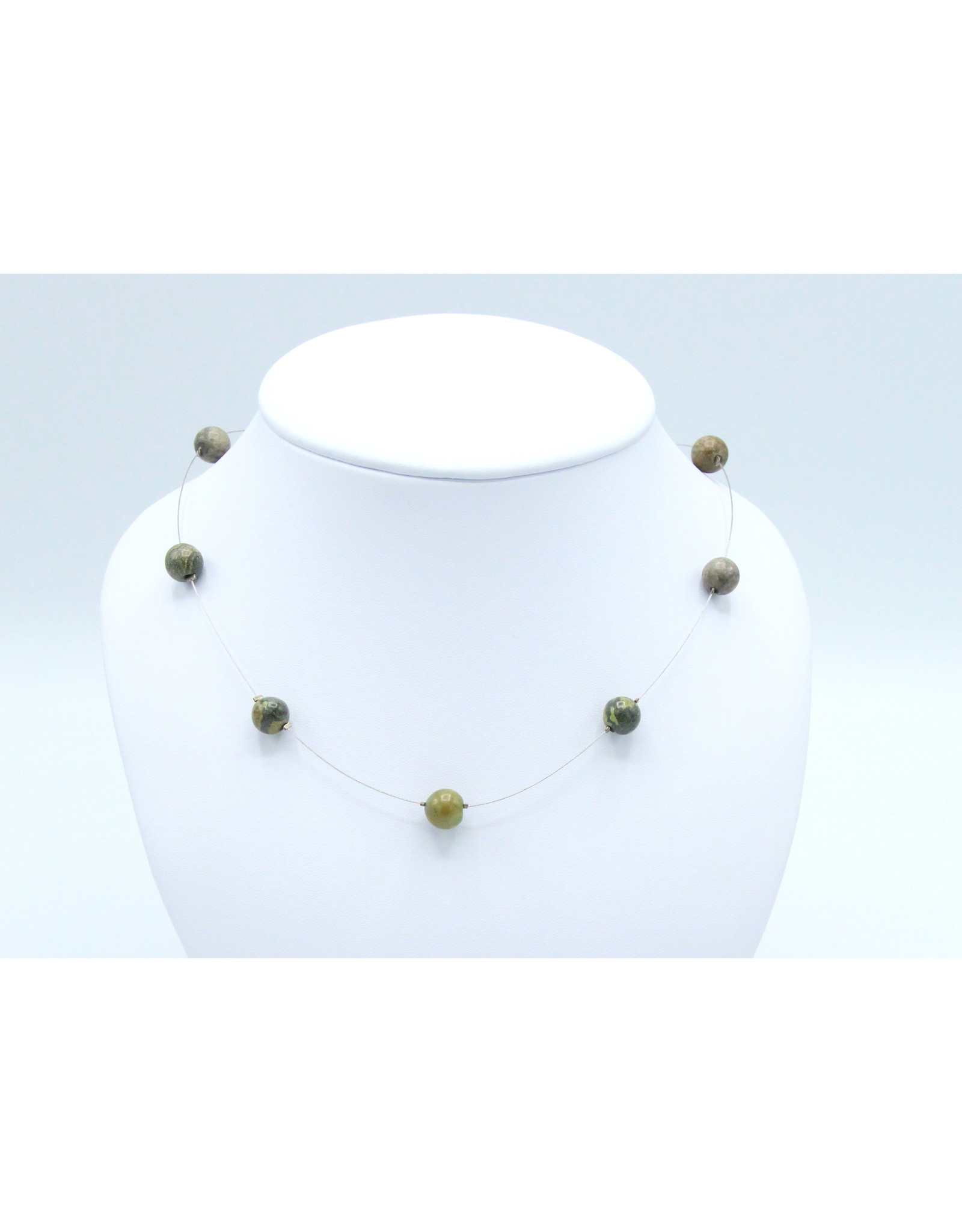 Gaspeite Necklace - NG04
