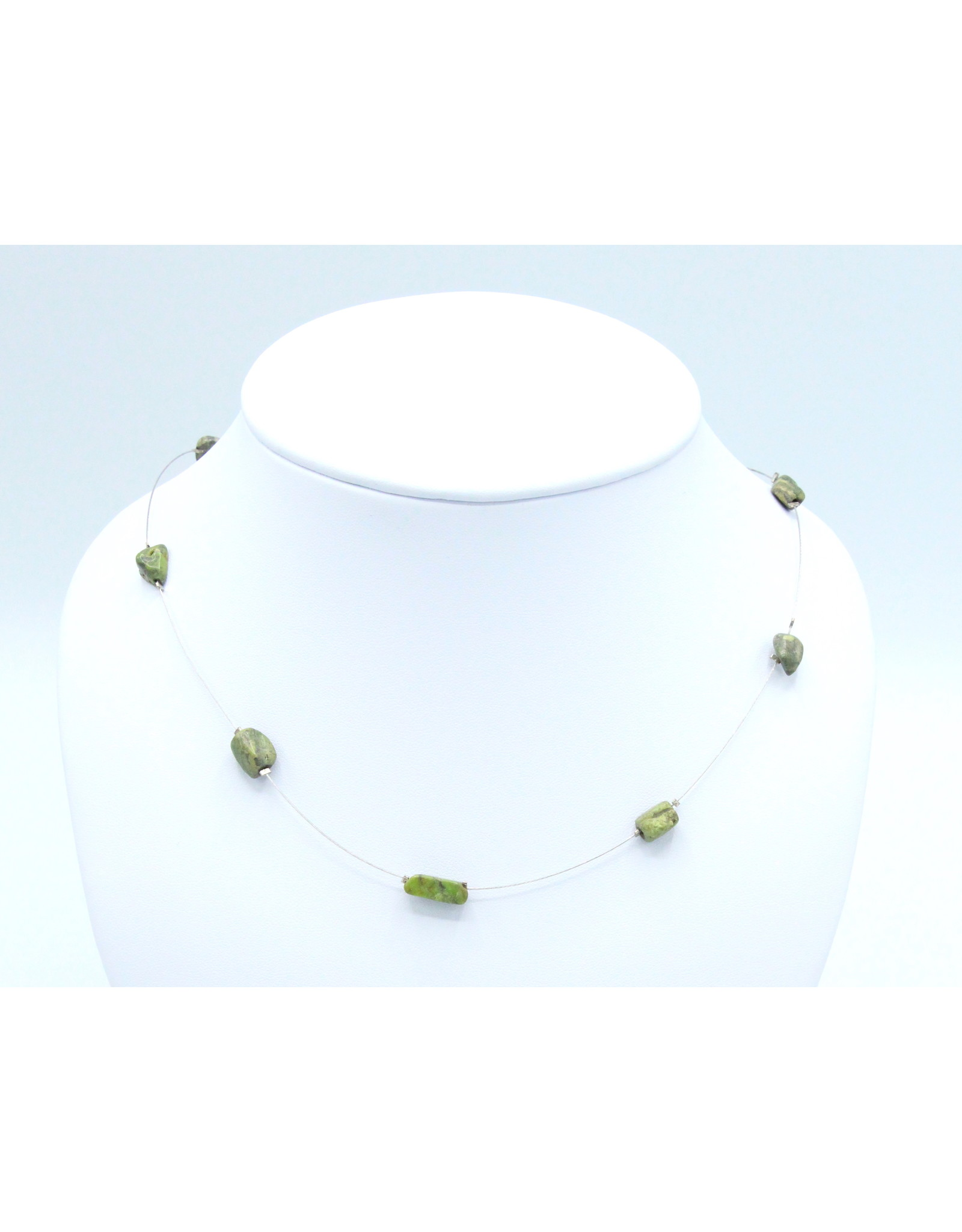 Gaspeite Necklace - NG02