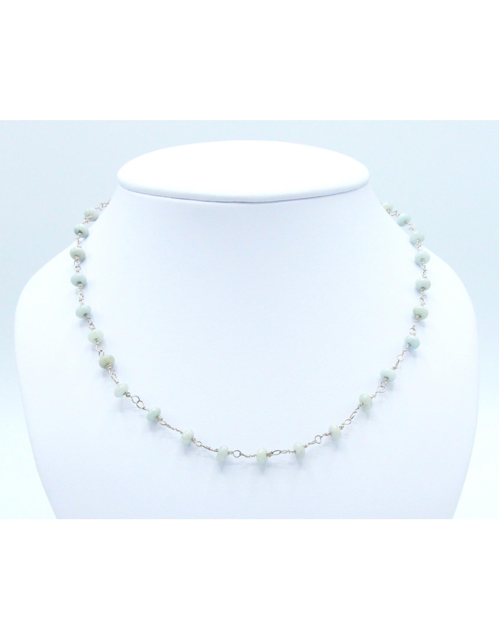 Aquamarine Necklace - NAQ04