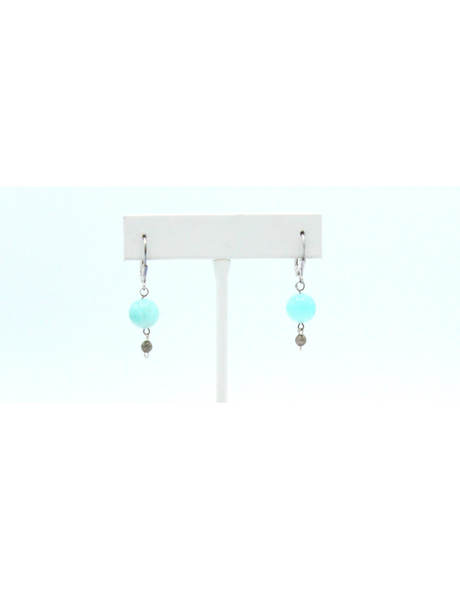 Amazonite Earrings - EA09