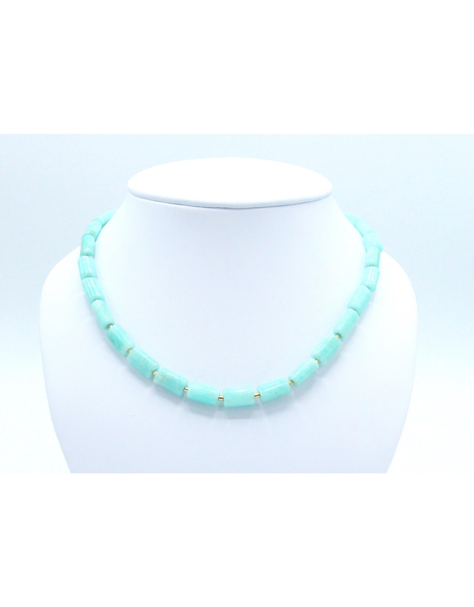 Amazonite Necklace - NA06