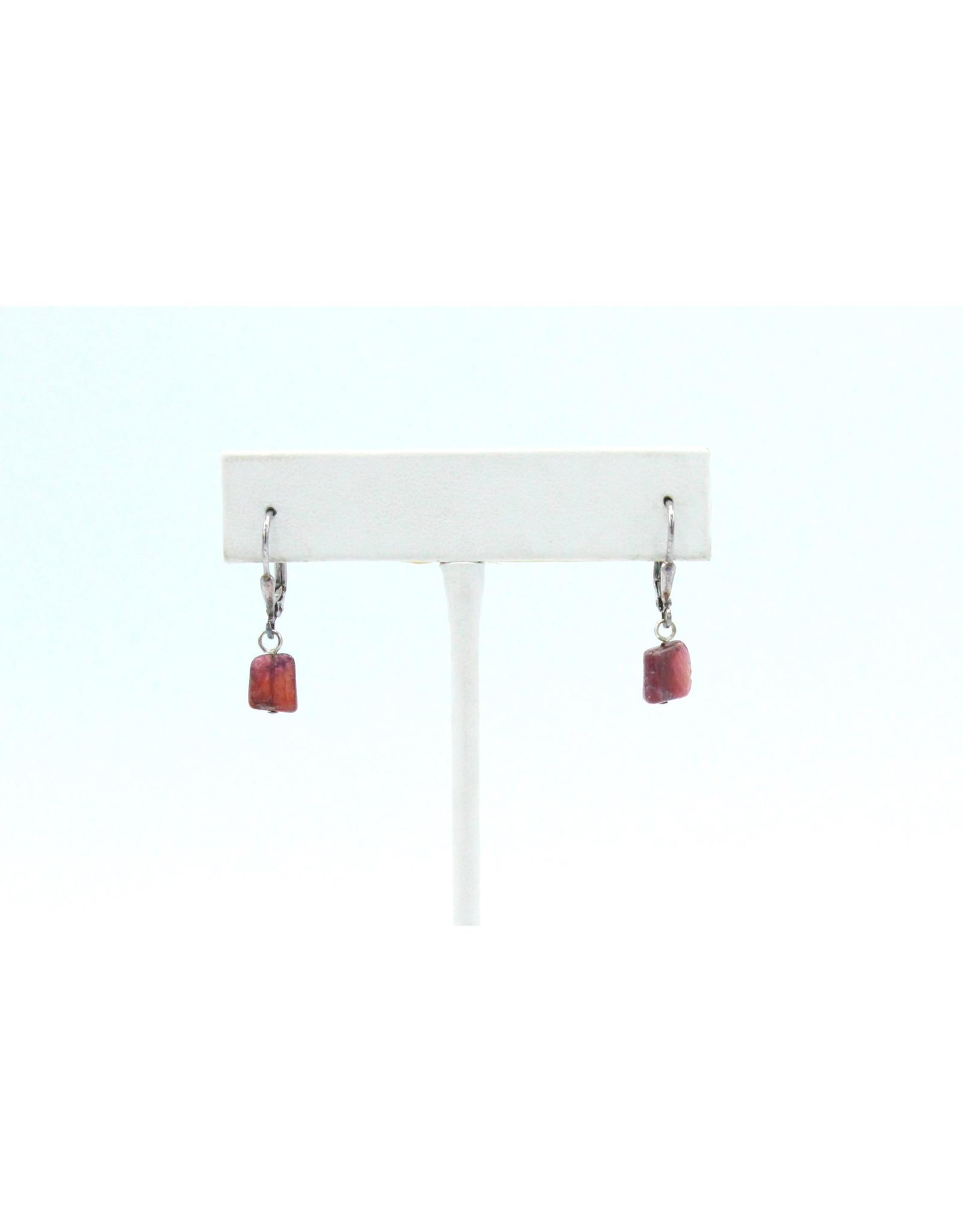 Eudialyte Earrings - EEU07