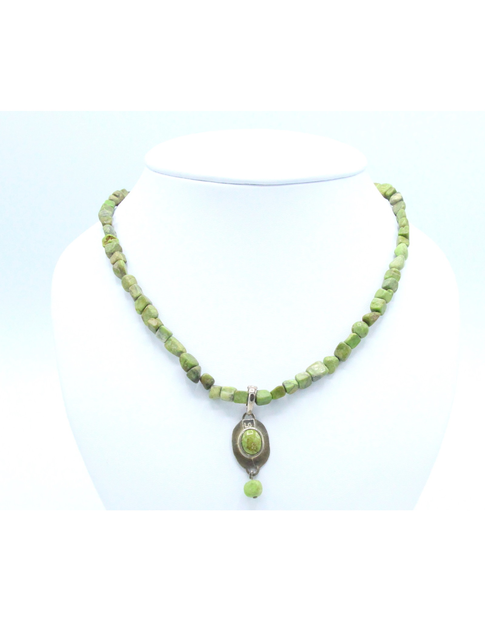 Gaspeite Necklace - NG07