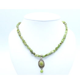 Gaspeite Necklace