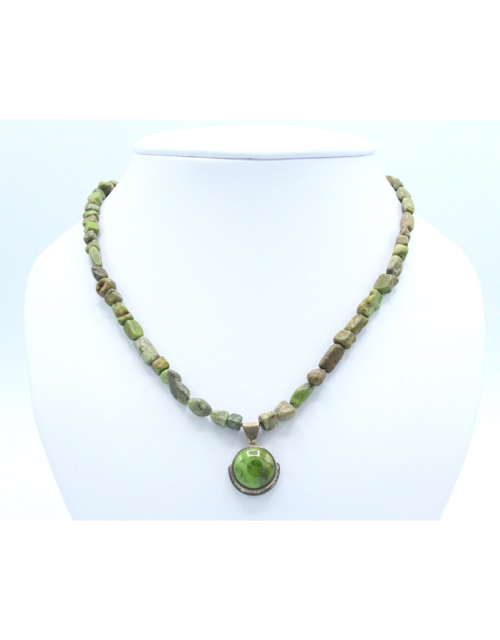 Gaspeite Necklace - NG05