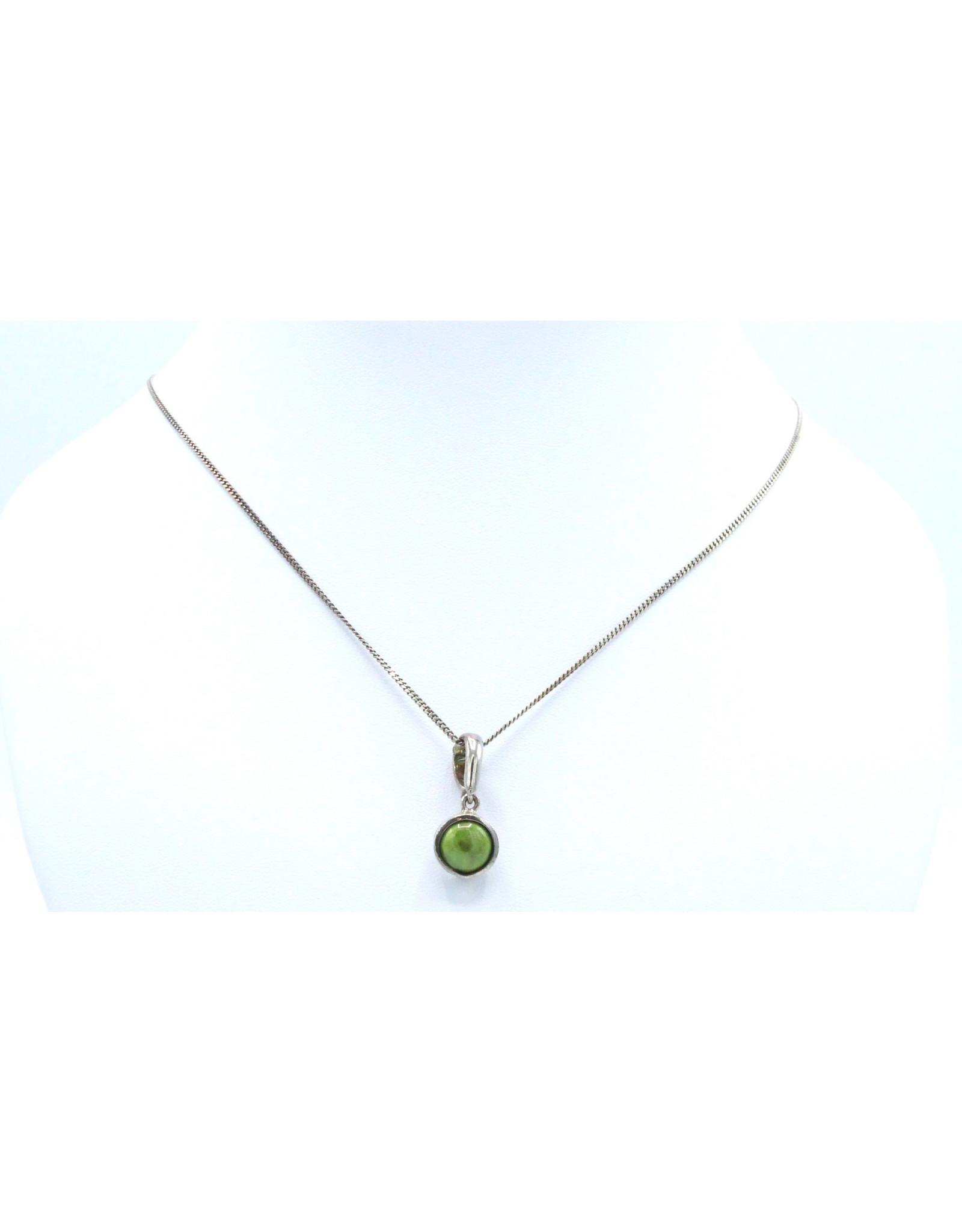 Gaspeite Necklace - 2