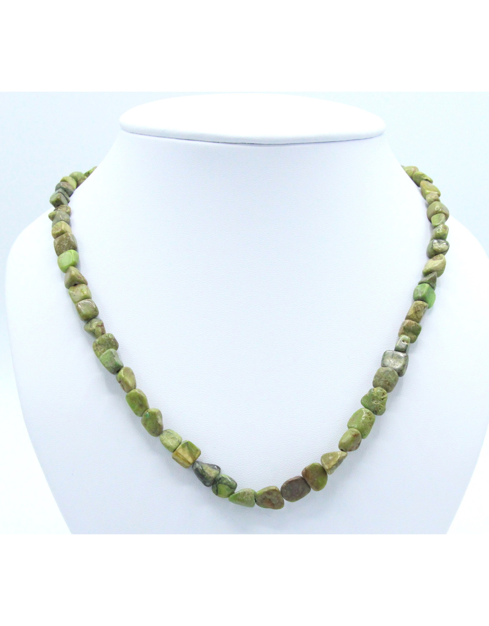 Gaspeite Necklace - NG06