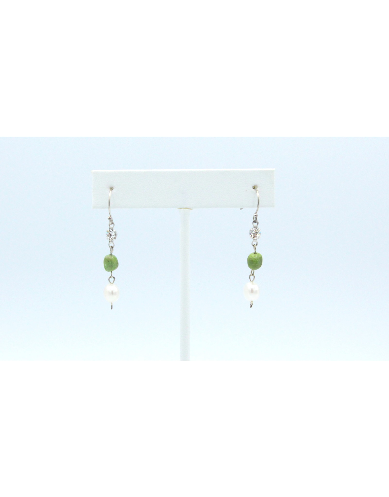 Gaspeite Earrings - EG02