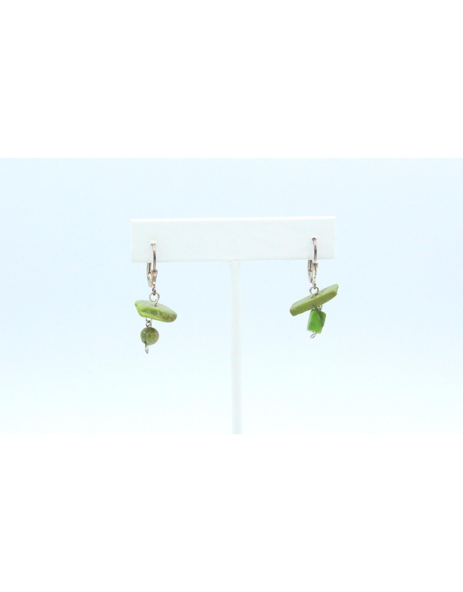 Gaspeite Earrings - ER013