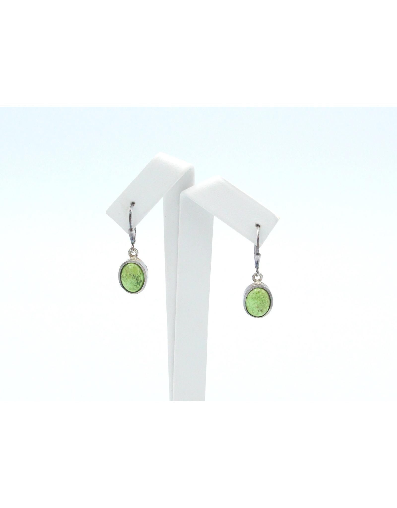 Gaspeite Earrings - EG05