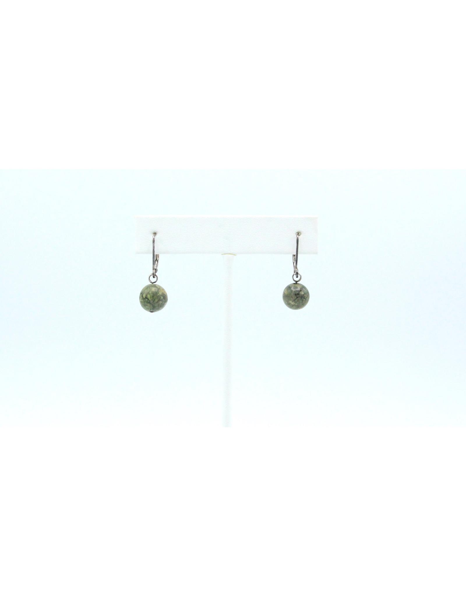 Gaspeite Earrings - EG07