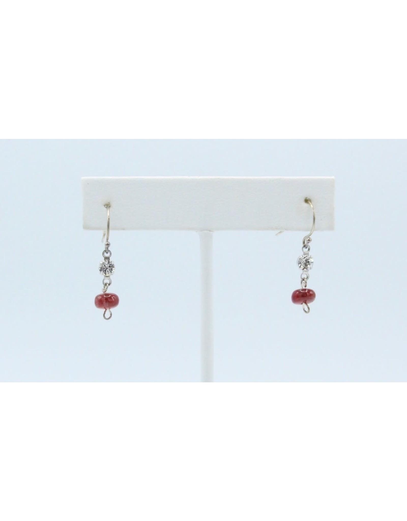 Eudialyte & Swavorski Earrings - EEU06