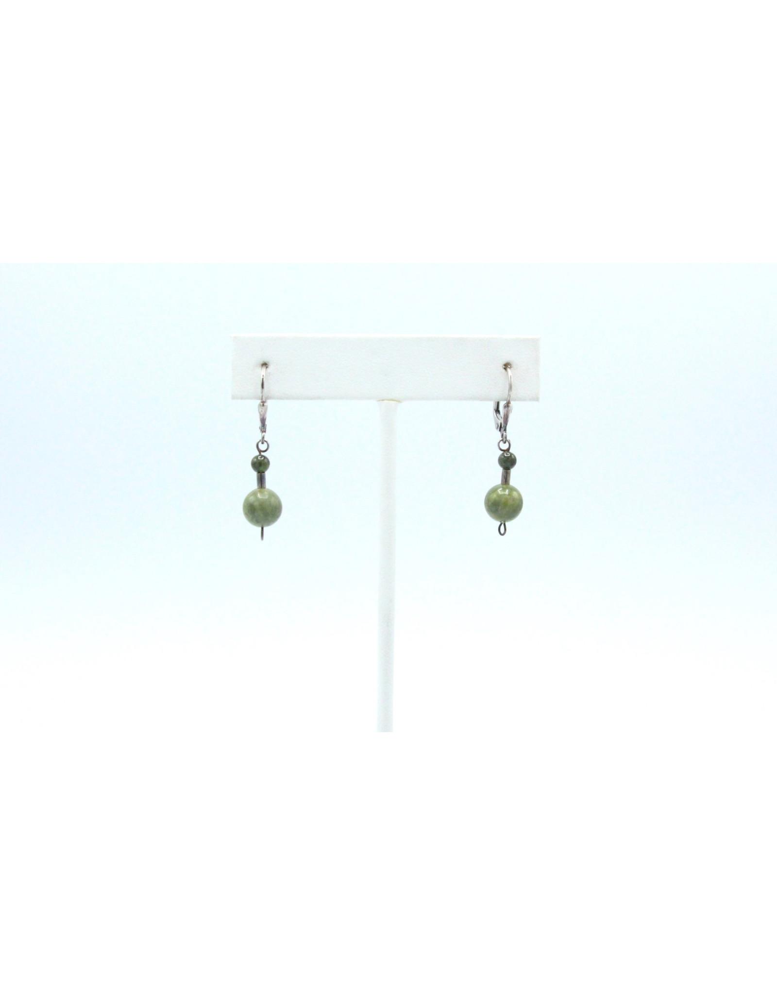 Epidote Earrings - EEP01
