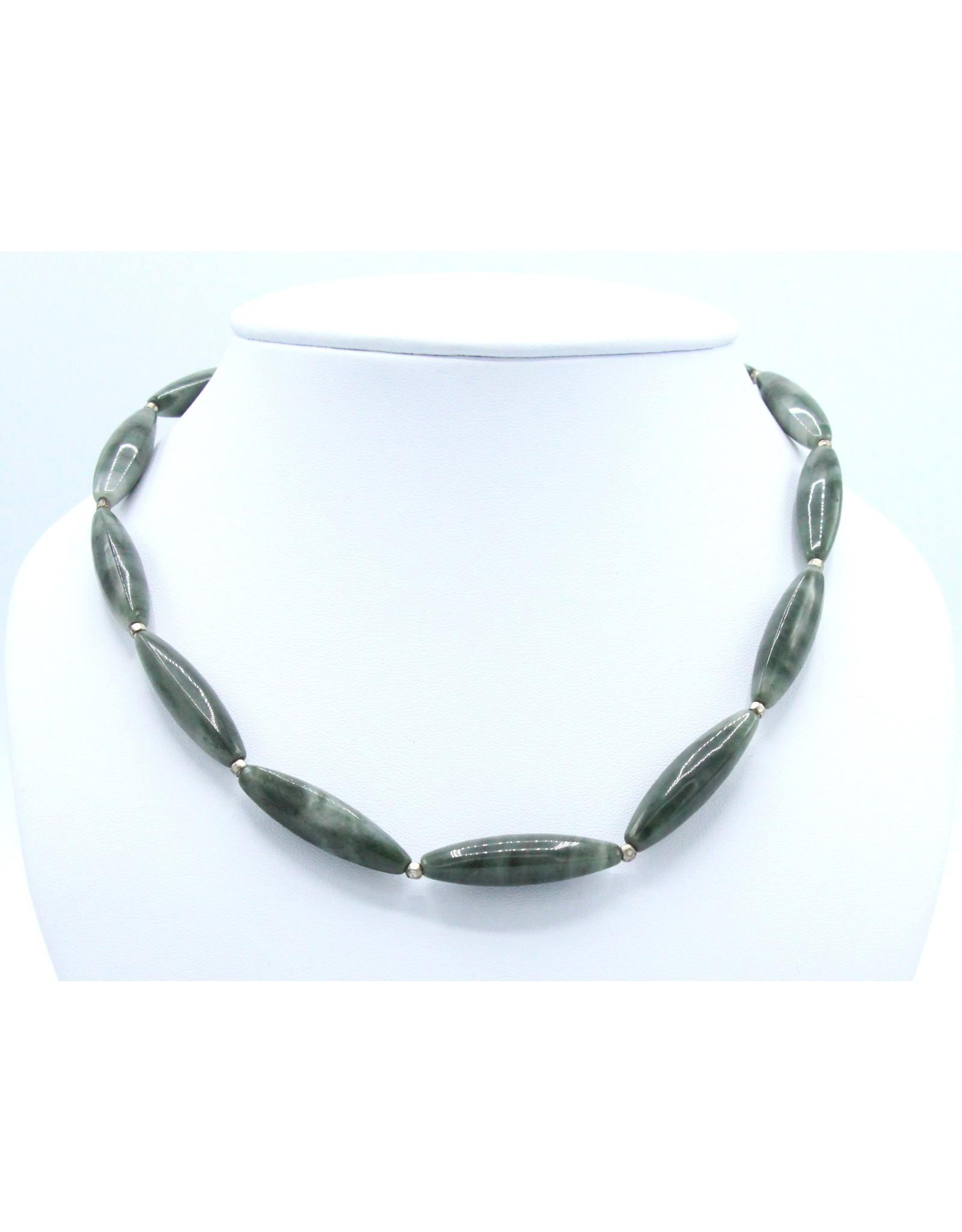 Agate Mousse Necklace - NAGM01