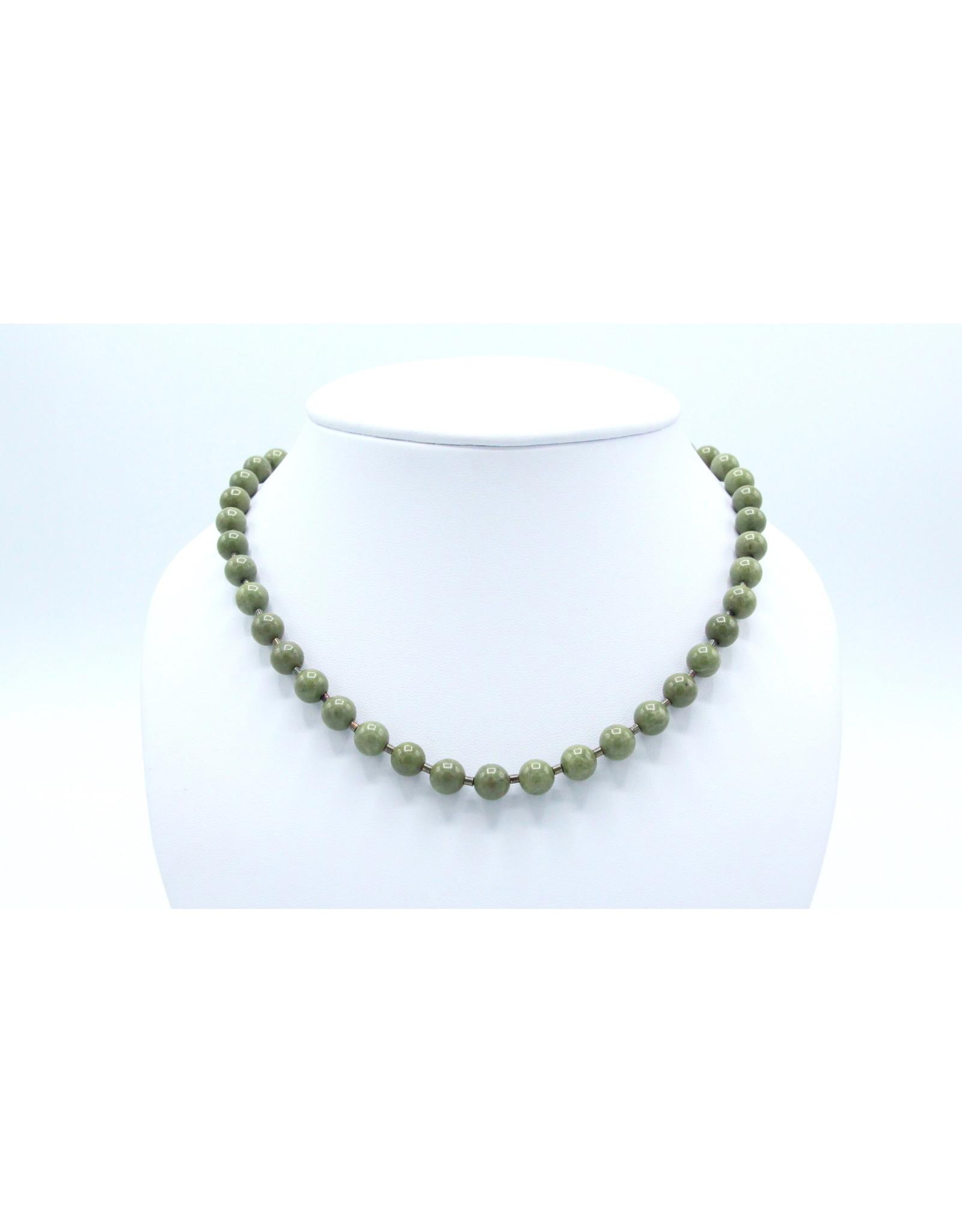 Epidote Necklace - NEPI01