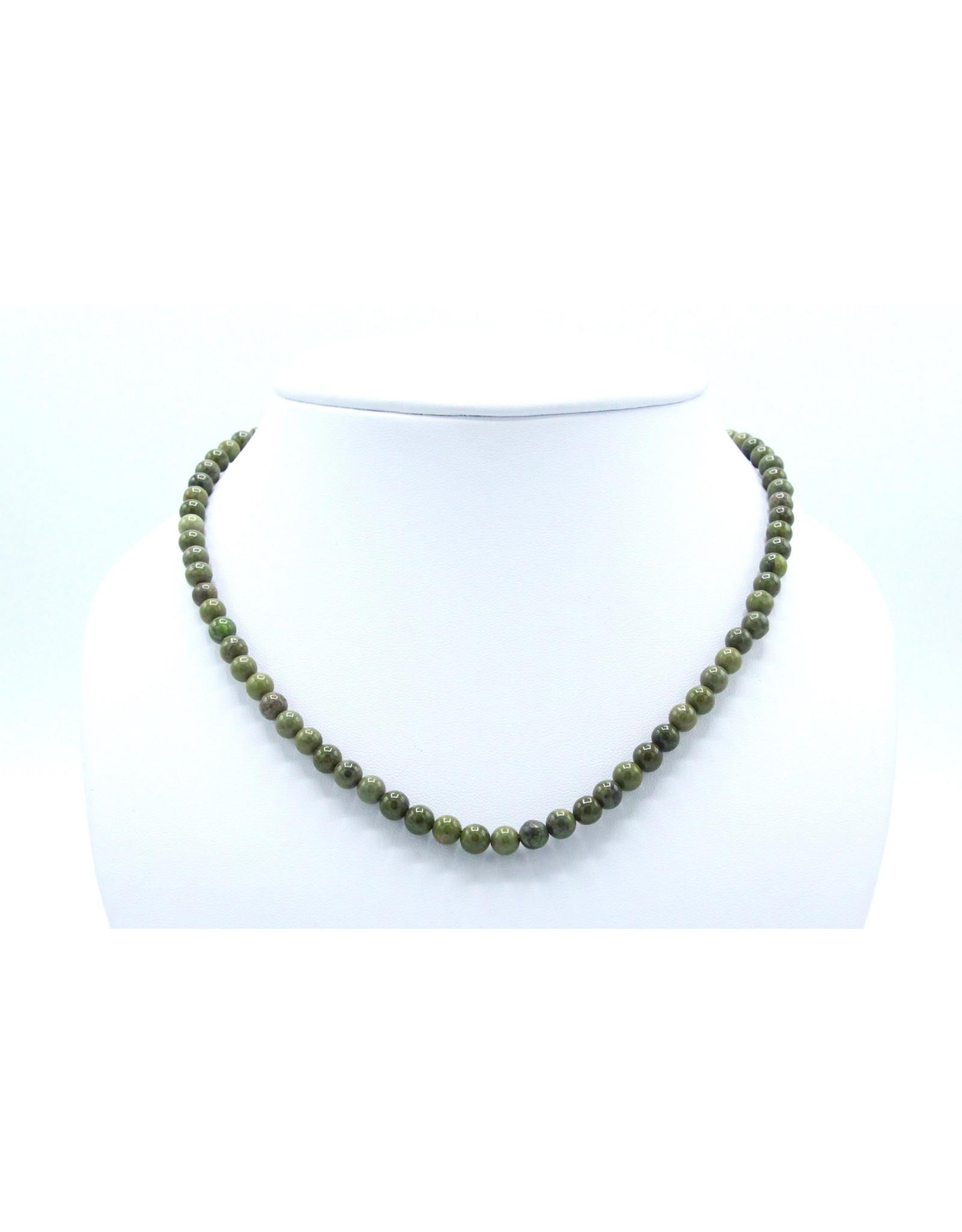 Epidote Necklace - NEPI03