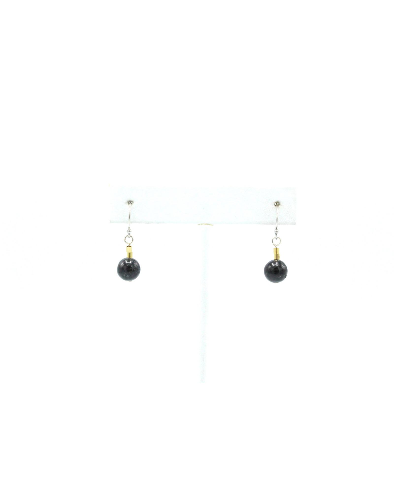 Granit Noir Earrings - EGN02
