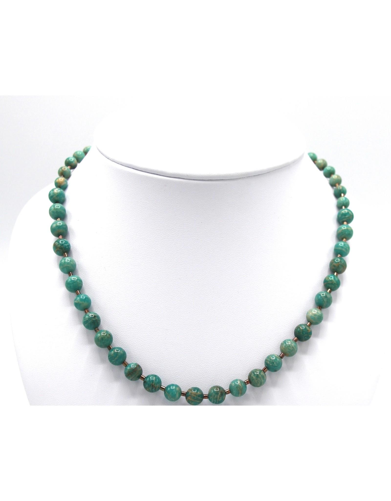 Amazonite Necklace - NA08