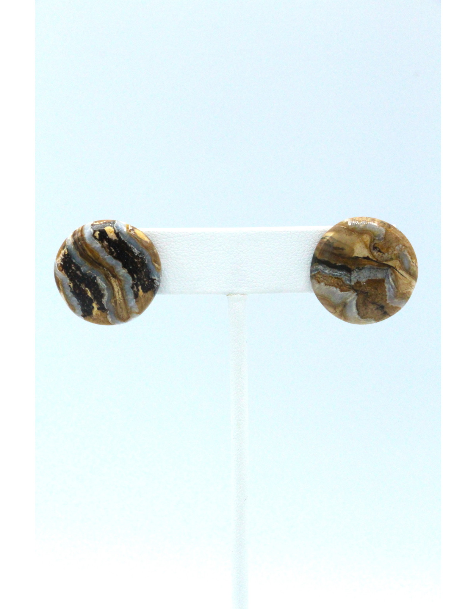 Mammoth Tooth Large Earrings by Damien Iqualla