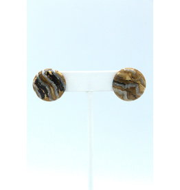 Mammoth Tooth Large Earrings